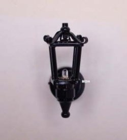 Black Coach Lamp With Soft White Light Mdhw2s 27 00