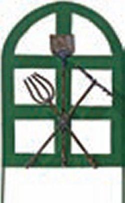 French Garden Gate Green Jer00930 7 00 Miniature
