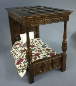Tudor Bed Jbm001 125 00 Miniature Cottage