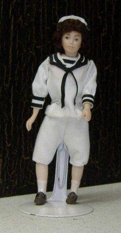 Sailor Boy 80 00 Miniature Cottage Dollhouse