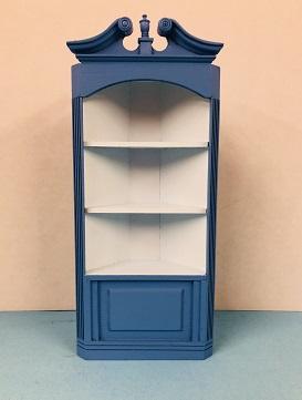 Two tone blue corner cabinet & Two tone blue corner cabinet [Mr. Bill 2] - $35.00 : Miniature ...